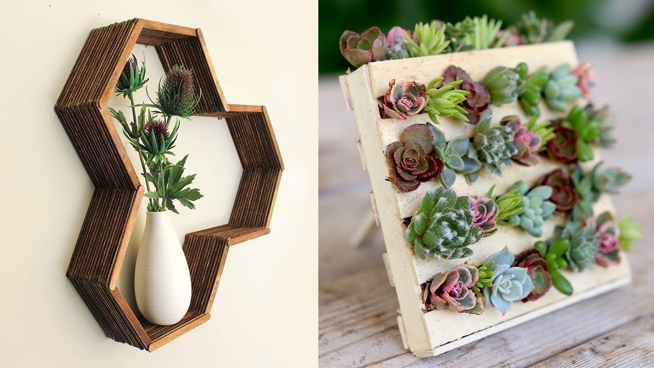 DIY Room Decor & Organization For 2017 - EASY & INEXPENSIVE Ideas! #01