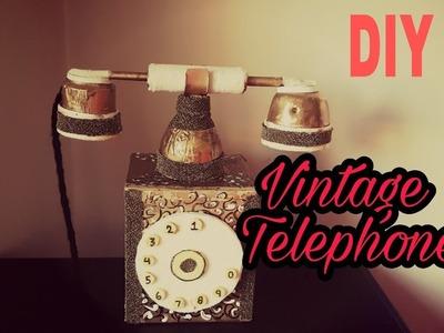 DIY - Room Decor Vintage Telephone. Secret Storage Box