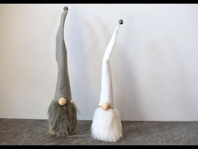 DIY Scandinavian Christmas Gnomes