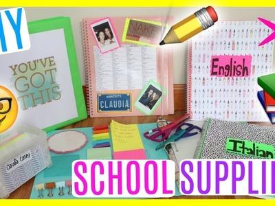 DIY School Supplies! Back to School 2017! Easy & Trendy DIY'S!