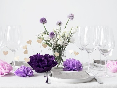 DIY : Set a festive table by Søstrene Grene