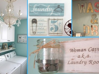 ❤ DIY Shabby Chic Style Laundry Room decor Ideas ❤| Home decor & Interior design | Flamingo mango