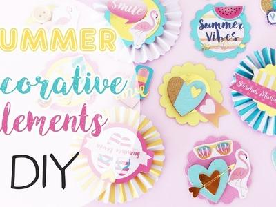 DIY Summer Decorative Elements - Elementi Decorativi Estivi Fai da te