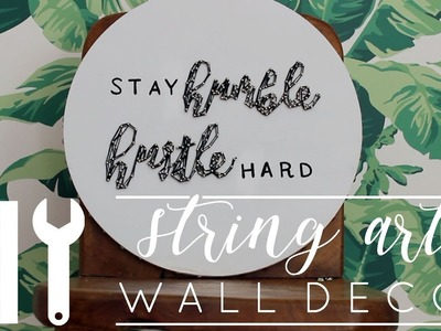DIY Wall Decor | String Art