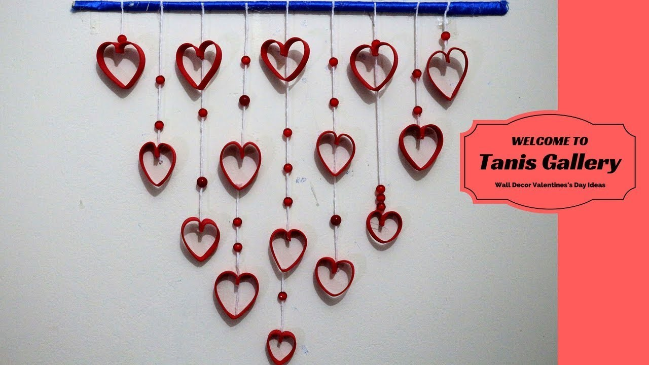 Diy Wall Decor Valentiness Day Ideas Romantic Decorating