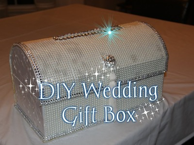 DIY Wedding Gift Box-Home Edition Wedding Series Pt 1
