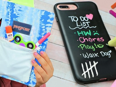 DIY Weird Back To School Supplies HACKS YOU NEED TO TRY! 2017