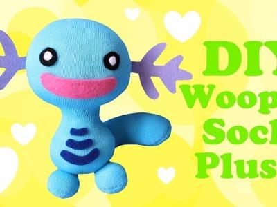 ❤ DIY Wooper Sock Plush! How To Make A Cute Pokemon Plushie! ❤
