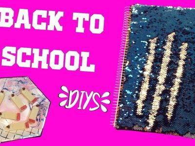 DIYs for Back To School 2017 ft. DIY MERMAID NOTEBOOK | Jayde Elizabeth