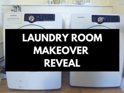 Dollar Tree DIY - Laundry Room Makeover Reveal