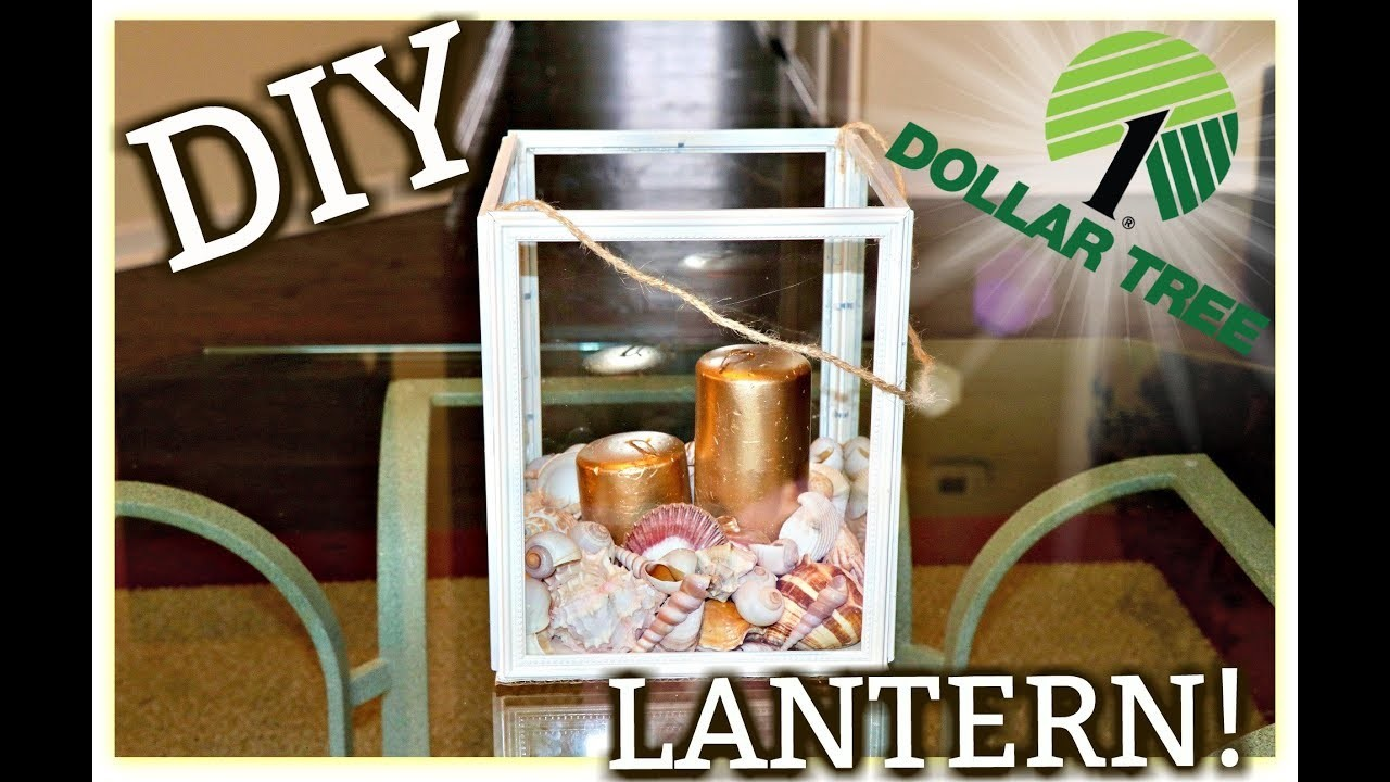 Dollar Tree Lantern DIY! | Kym Yvonne