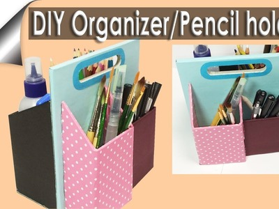 EASY DIY organizer. Pencil Holder