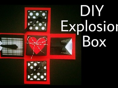 Explosion Box | DIY | Father's Day Special