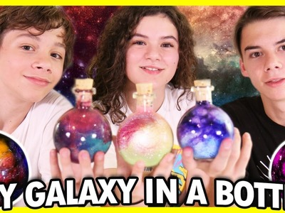 ✨Galaxy in a Bottle! ???? DIY Pinterest CHALLENGE! ???? ???? Nebulas in a Jar! ⭐