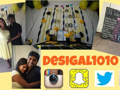 Gender Reveal party - decoration,ideas, themes, DIY banners