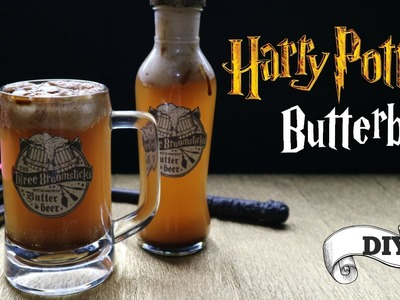 HARRY POTTER BUTTERBEER RECIPE + Butterbeer mug DIY