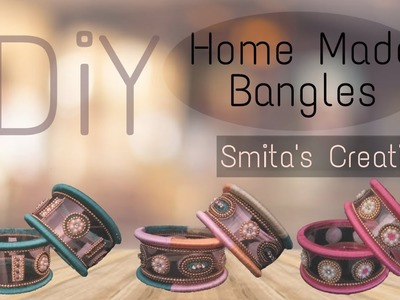 Home Made Fancy Bangles From Empty Plastic Bottle - DIY Fancy Bangles