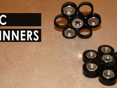 How to make a Cool PVC Spinner - DIY Fidget Spinner