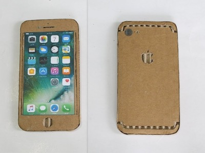 How to Make a iphone With Cardboard - diy apple iphone