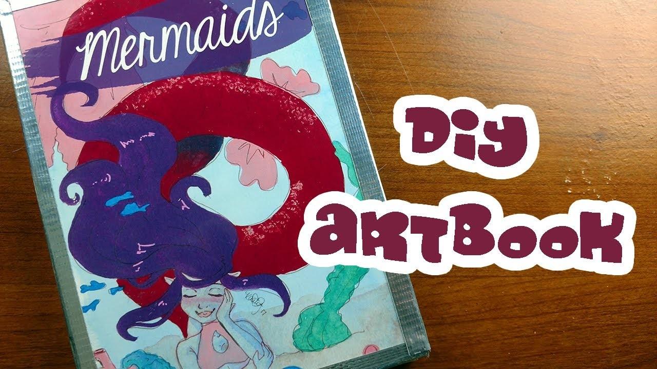 How to Make an Art Book ~ Kaatydid Art