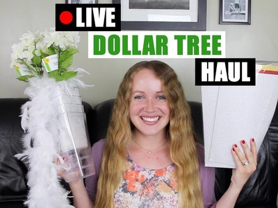 Live DOLLAR TREE HAUL & 99 Cents Store Haul Dollar Tree DIY Supplies For Upcoming DIY Decor Projects