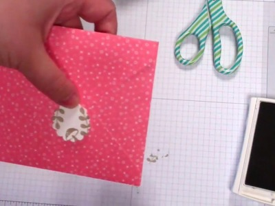 Quick Tip! DIY Envelope Sticker Seals Stampin' Up! Use Your Punches!