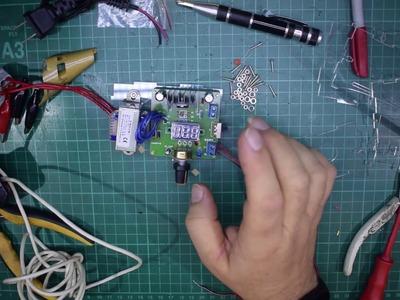 Review: - Banggood DIY LM317 Adjustable DC Power Supply Kit With Voltage Meter