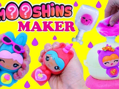 SQUISHY MAKER!!! New Smooshins Squish Toys Maker Giant Surprise Egg Toys DIY Slime Craft For Kids