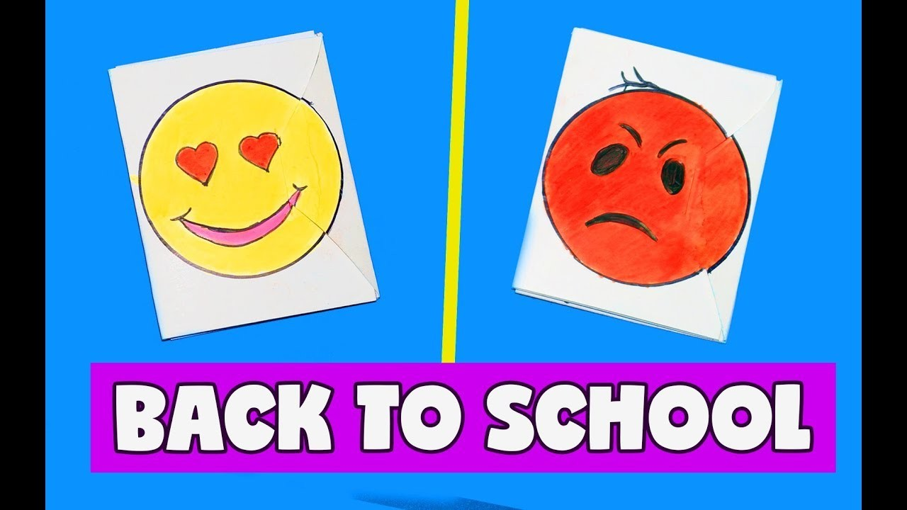 2 in 1 DIY notebook ideas | I love and do not like school | BACK TO SCHOOL SUPPLIES 2017 | Julia DIY