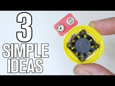 3 Simple Ideas - DIY Life Hacks