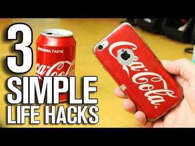 3 Simple Life Hacks - DIY Ideas