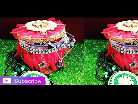 Best out of waste how to make diy bangle gift box my for Waste out of best from bangles