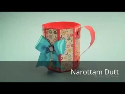 Crafts to do at Home - paper art  paper mug  paper arts and crafts