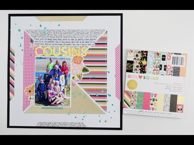 Creative Scrapbooking With 6x6 Paper Pads By Becki Adams For