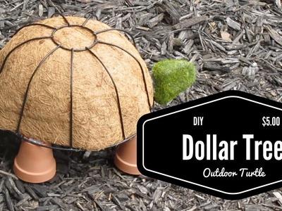 DIY $5 Dollar Tree Outdoor Turtle