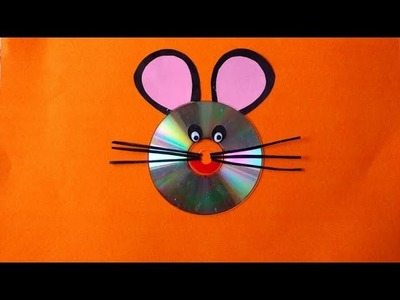 DIY- Cat face by using Waste CD || Innovative Artsncrafts