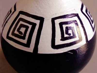 DIY clay pot painting   terracotta pot   home decor ideas