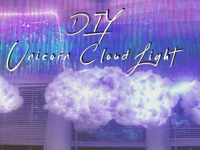 DIY CLOUD LIGHT USING LED COLOR CHANGING LIGHTS     ELLE K. CREATIVE