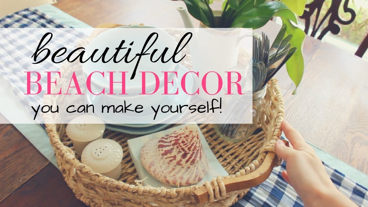 Diy coastal home decor beach theme decor ideas my crafts and diy projects Diy beach home decor pinterest