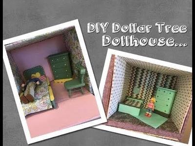 DIY Dollar Tree Wood Doll House Furniture Part 5