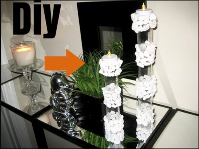 Diy Dollartree Candle stand