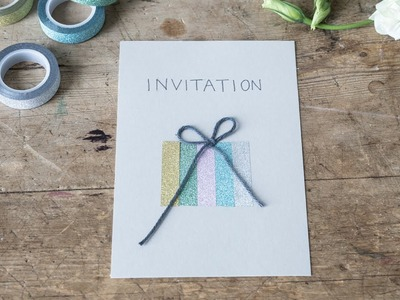 DIY : Festive invitations and decorations by Søstrene Grene