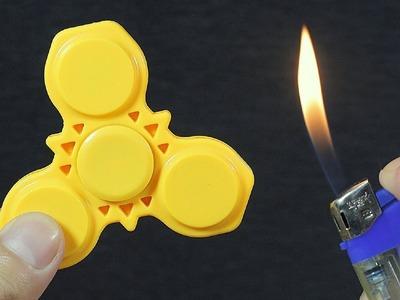 DIY FIDGET SPINNERS! 8 Ways To Make A Fidget Spinner Toy!