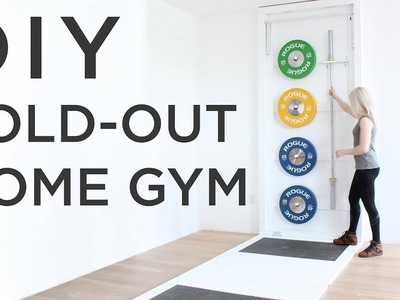 DIY Fold-Out Gym | How to make a CrossFit style gym at home