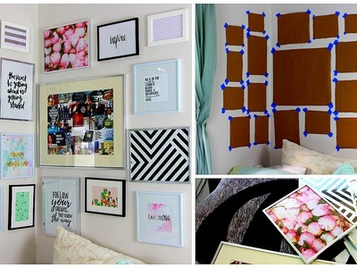 DIY Gallery Wall | Easy Room Decor On A Budget