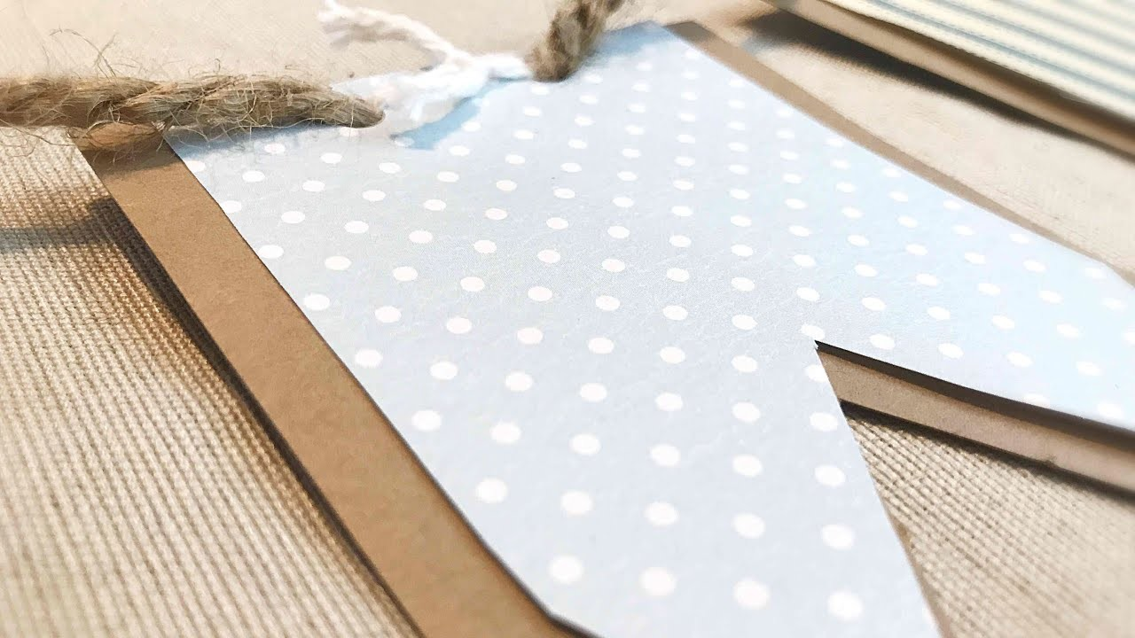 DIY Handcrafted Banner || Create a Banner for Your Mantel or Mirror || Home Decor