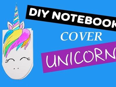 DIY notebook cover unicorn | DIY cute notebook ideas | School Supplies You NEED To Try! | Julia DIY
