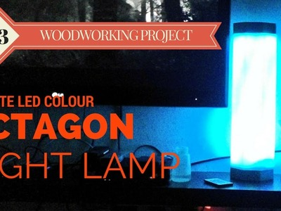DIY Octagon RGB LED Night Lamp