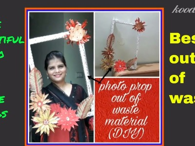 DIY photo booth props.photography props.how to make photoprop at home.diy photo frame.koodkala 13