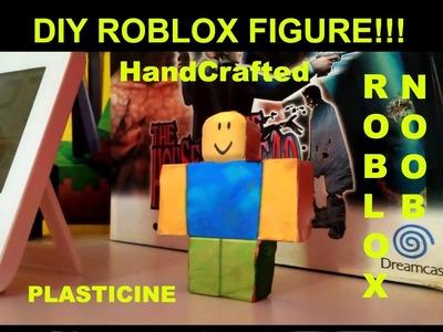 DIY Roblox Figures - John Doe - How to make a  Roblox Noob Figure!!!
